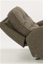 Power Reclining Pieces Available with Power Adjustable Headrest