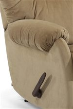 Rounded Pillow-Top Arm