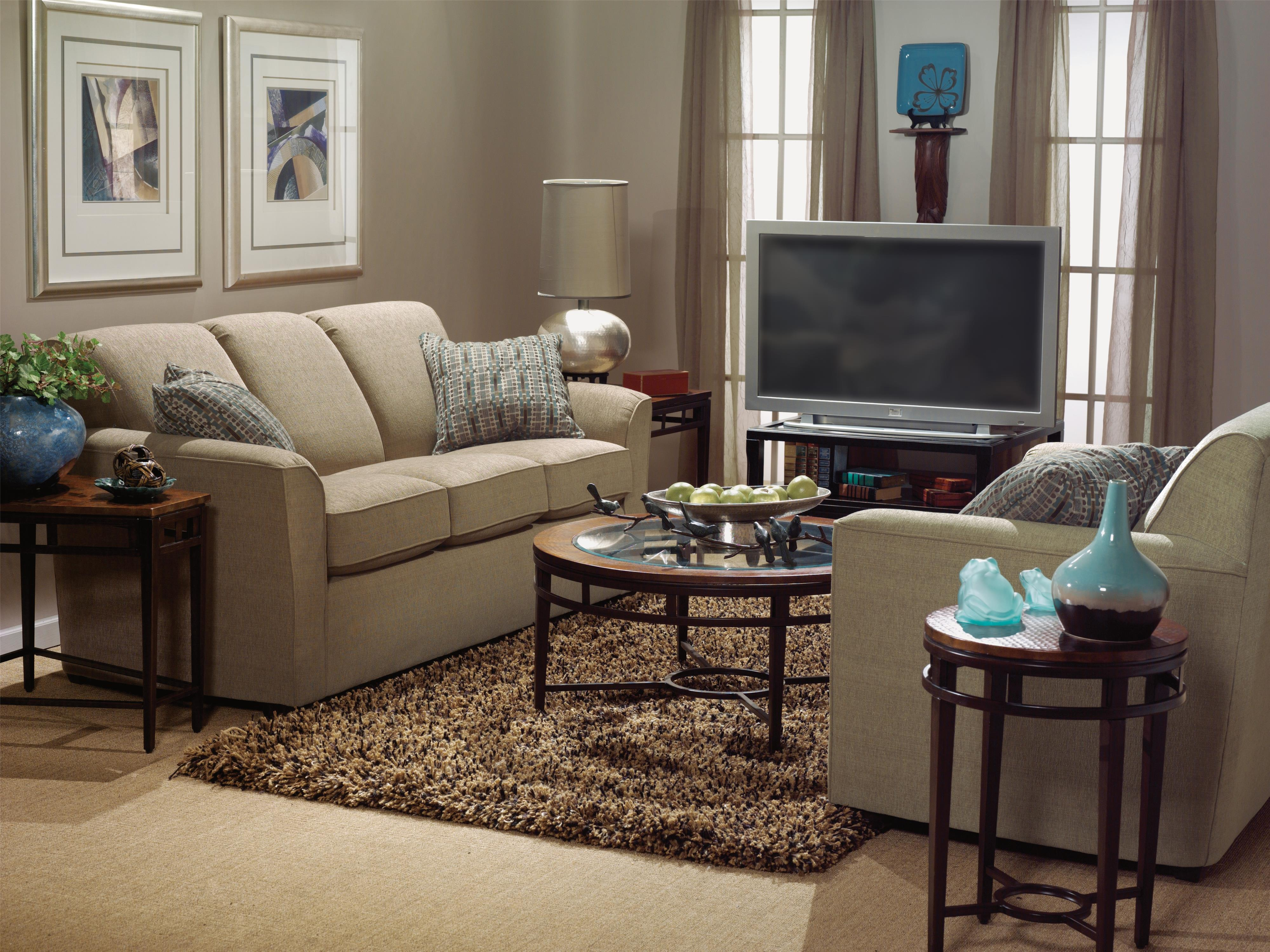 Flexsteel Lakewood Stationary Living Room Group - Item Number: 5936 Living Room Group 2