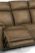 Fully Padded Chaise for Comfort and Safety