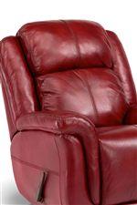Automotive Style, Channeled Bustle Back Cushion
