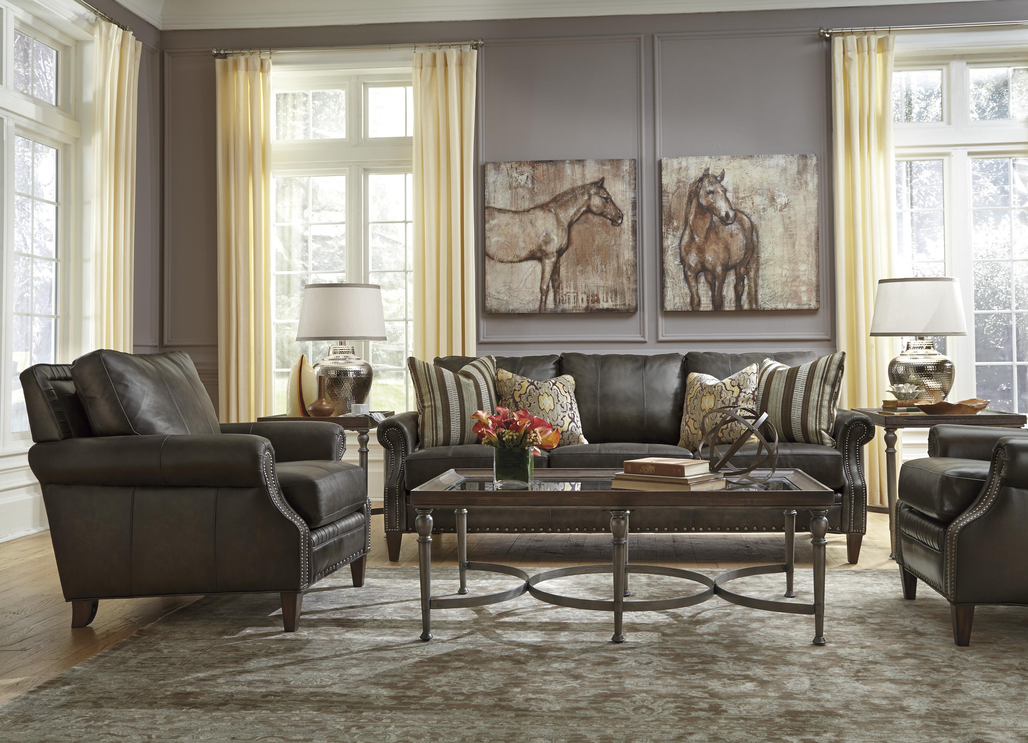 Flexsteel Latitudes-Daltry Stationary Living Room Group - Item Number: 1213 Living Room Group 1