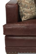 Tailored with Double-Welts and Nailhead Trim