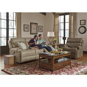 Flexsteel Latitudes-Margot Contemporary Glider Recliner with Power
