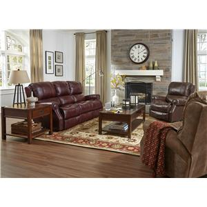 Flexsteel Latitudes-Miles Reclining Living Room Group
