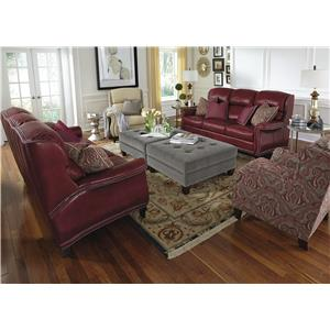 Flexsteel Latitudes-Sting Ray Stationary Living Room Group