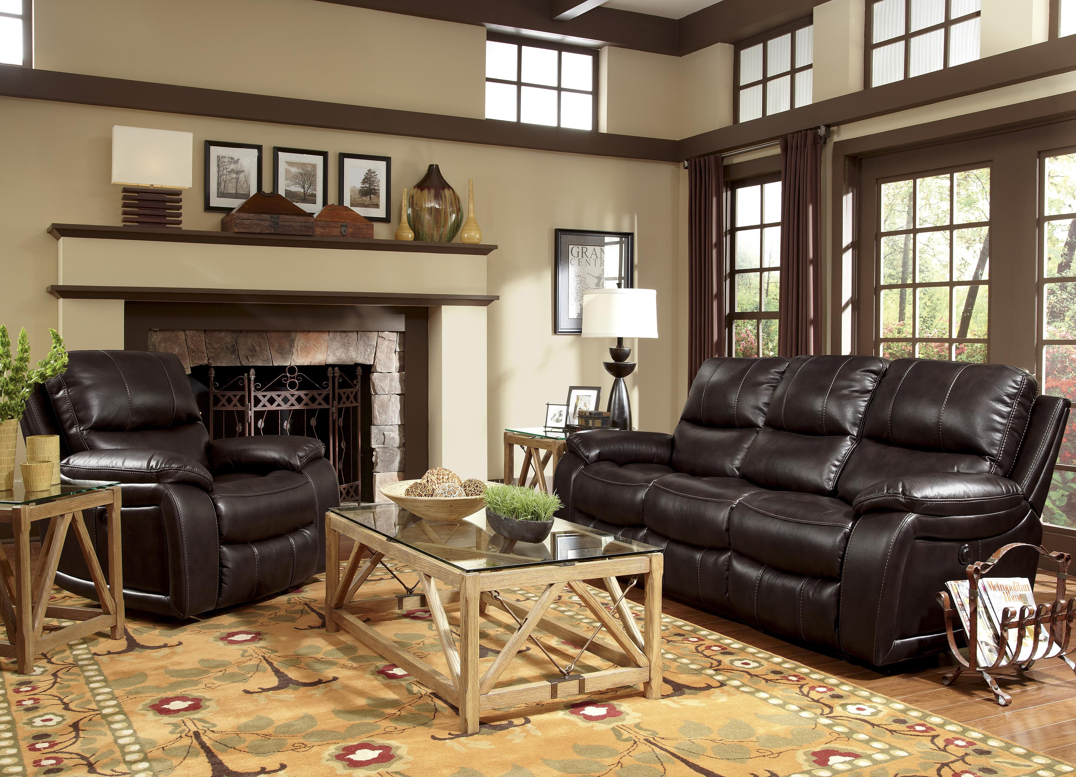 Flexsteel Latitudes Woodstock Power Reclining Living Room Group Olinde 39 S Furniture