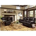 Flexsteel Latitudes - Woodstock Reclining Living Room Group - Item Number: 1298 Living Room Group 1