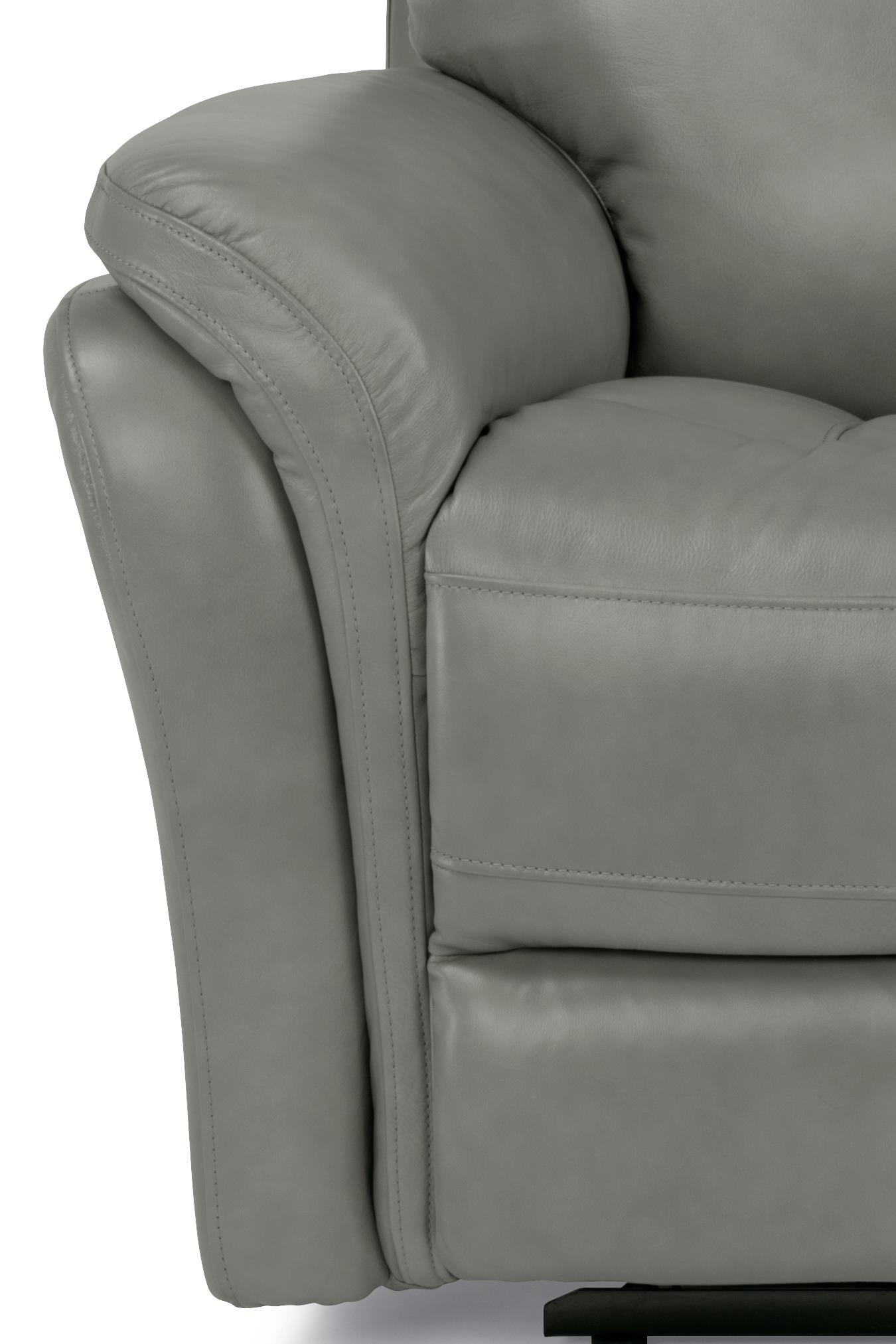 Flexsteel Latitudes Zoey Power Reclining Sofa with Power Headrest