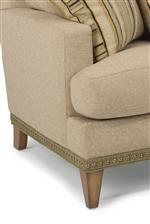 Take Your Customized Piece to the Next Level with Optional Contrast Fabric and Nailhead Detailing