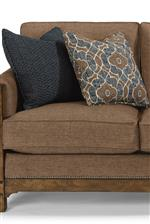 Accent Pillows Included with Select Pieces