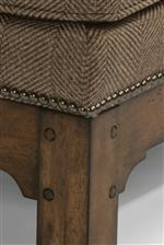 Nailhead Trim Provides Subtle Embellishments
