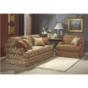 Flexsteel That's My Style Stationary Living Room Group