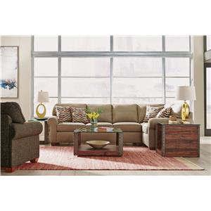 Flexsteel Thornton  2 Piece Sofa Sectional