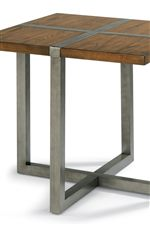Accents of Aged Tubular Steel Add Rustic, Contemporary Edge to This Laid-Back Look