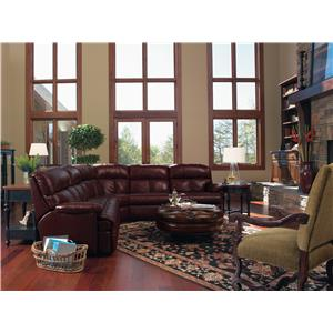 Flexsteel Triton Reclining Sofa Sectional  sc 1 st  Wayside Furniture : sofa sectional recliner - islam-shia.org