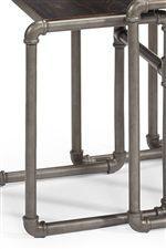 Industrial-Style Steel Fittings