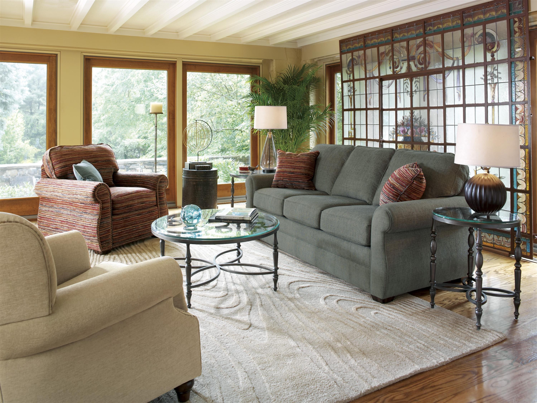 Flexsteel Whitney Stationary Living Room Group - Item Number: 5643 Living Room Group 1