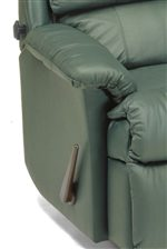 Sloped Pillow-Top Arm