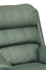 Plump Channel-Tufted Back Cushion