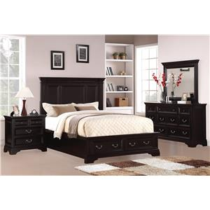Flexsteel Wynwood Collection Camberly Bedroom Group