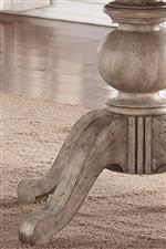 Elegant Turned Pedestal Base