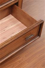 Cedar-lined Drawers