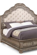 Button Tufted Pinback Upholstered Headboard