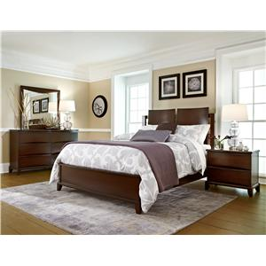 Morris Home Furnishings Corinth Queen Storage Bed