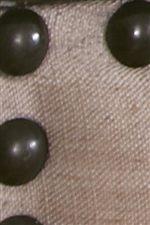 Nailhead Trim Used on Upholstered Headboard