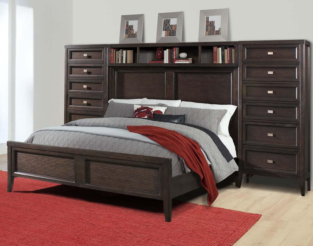 Folio 21 lisbon queen pier bed with 12 drawers story lee folio 21 lisbon queen pier bed with 12 drawers story lee furniture bookcase bed leoma lawrenceburg tn and florence athens decatur huntsville al amipublicfo Gallery