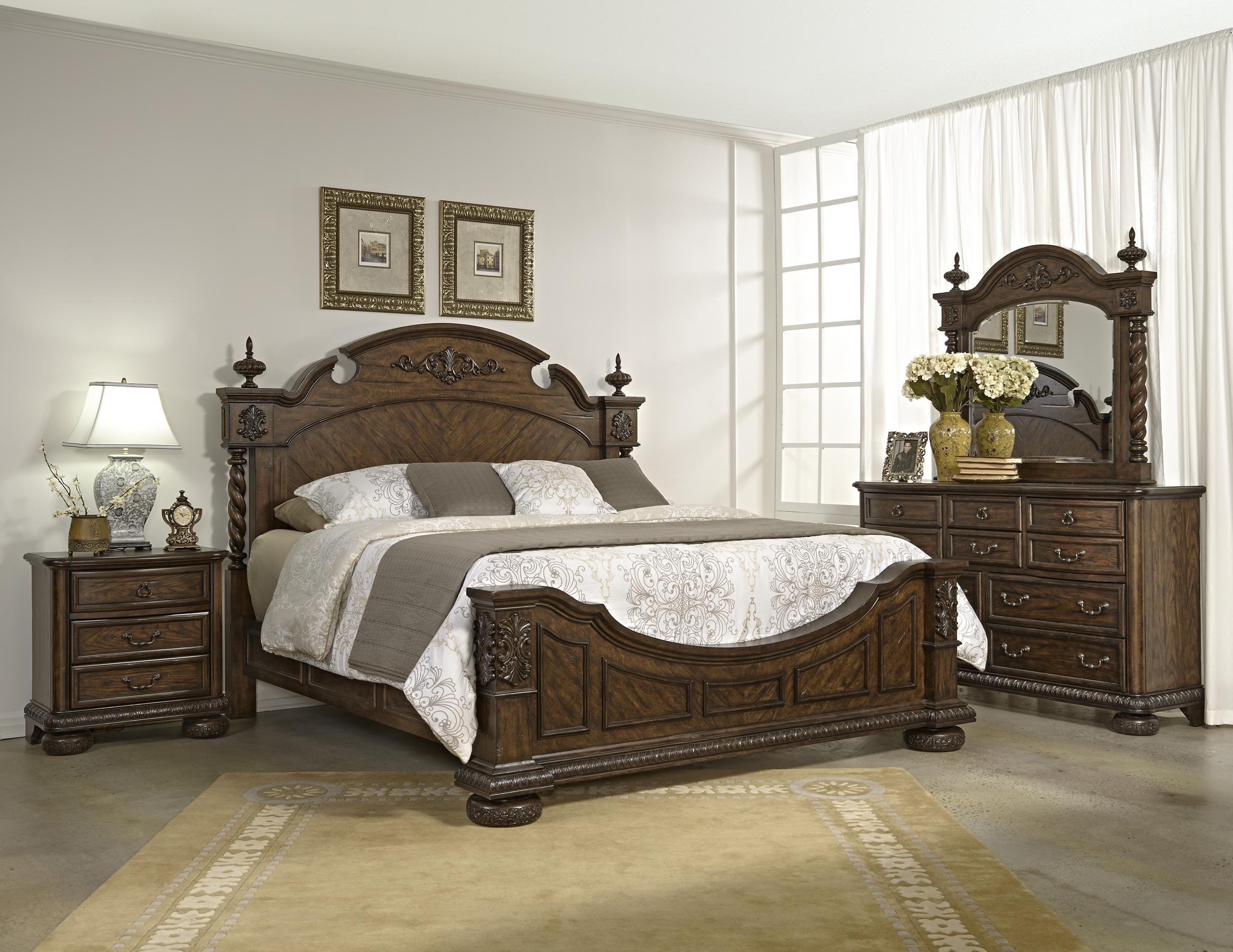 Folio 21 Yorkshire Traditional King Panel Bed - Story & Lee ...