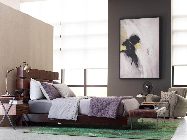 Kingston Bedroom Furniture Four Hands Bina Iggy Reclaimed Wood Queen Bed Belfort Furniture