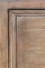 Drawer Fronts Feature Side Moldings