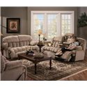 Franklin 524 Reclining Living Room Group - Item Number: 524 Living Room Group 1