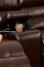 Built-In Cup-Holders Keep Drinks Close at Hand