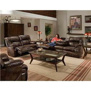 Franklin 6460 Reclining Living Room Group