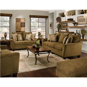 Franklin 811 Emily Stationary Living Room Group