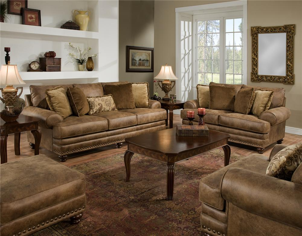 817 Stationary Living Room Group by Franklin at Virginia Furniture Market