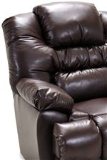 Padded Arms and Seat back Cushions are Crafted with Extra Plush Reflex Foam for Dynamic Rebound and Incredible Durability