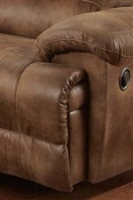 Thick Padding Helps to Enhance Comfort on Arms, Seats and Footrests to Help you Relax