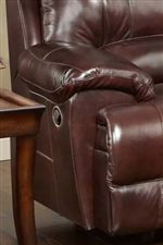 Pillow Topped Arm Rests Provide Comfort and Casual Style
