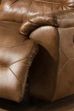 Soft Padding Throughout Each Piece Provides Casual Comfort for Relaxed Evenings at Home
