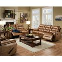Franklin Freedom  Reclining Living Room Group - Item Number: 477 Living Room Group 2