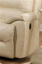 Pillow Topped Arms Enhance Casual Style with a Feel of Comfort