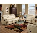 Franklin Freedom Reclining Living Room Group - Item Number: 477 Living Room Group 1