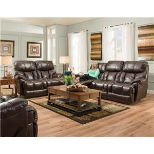 Franklin Mammoth Reclining Living Room Group