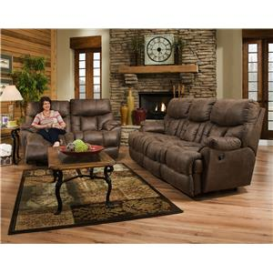 Franklin Mammoth Reclining Loveseat with Extra Tall and Wide Seats