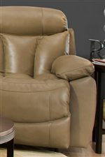 Padded Chambers offer superb comfort with Defined Headrests and Chaise Footrests