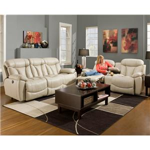 Franklin Wescott Reclining Living Room Group